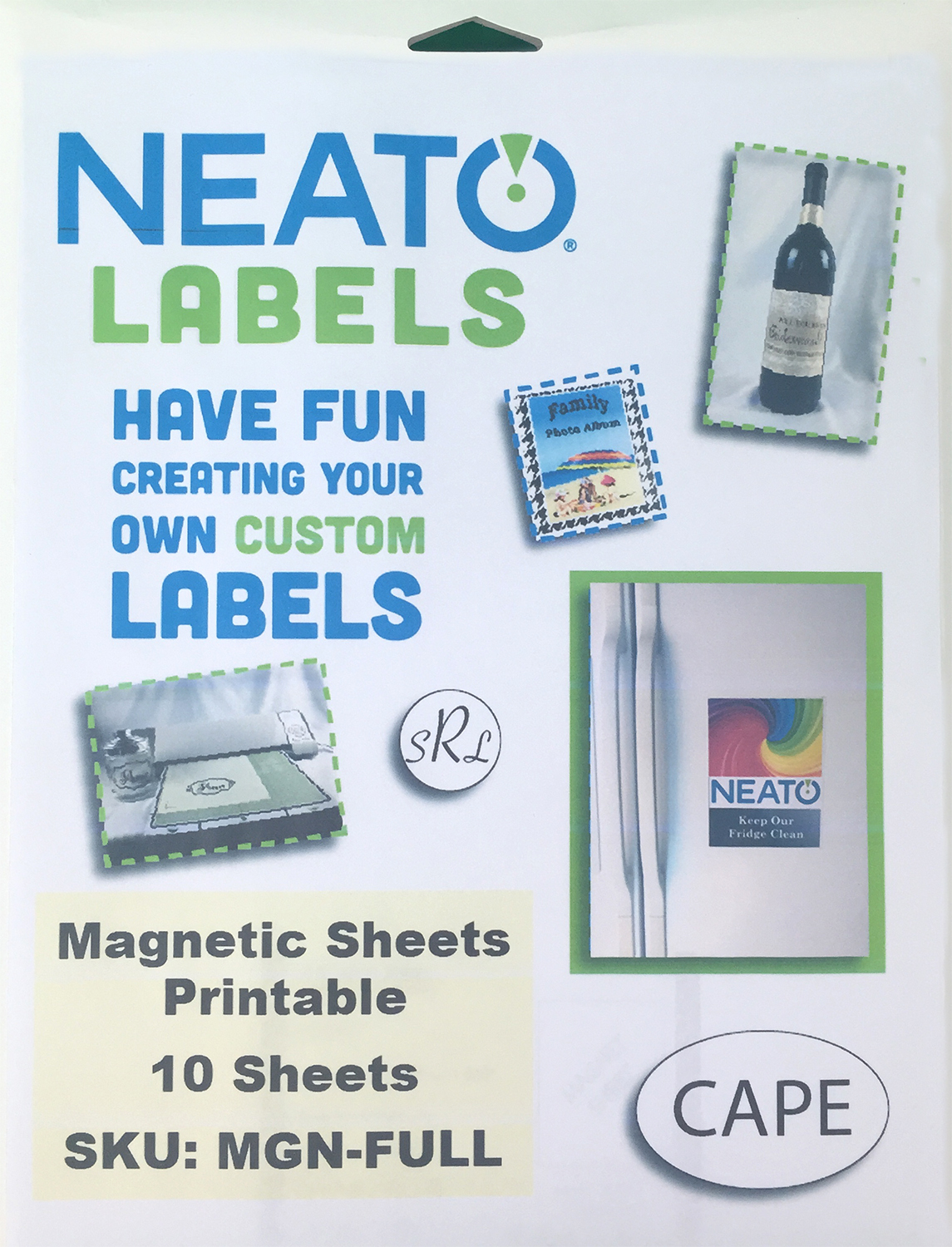 photo relating to Printable Magnet Sheets named NEATO Magnetic Sheets - 10 Shiny Printable Magnet Sheets