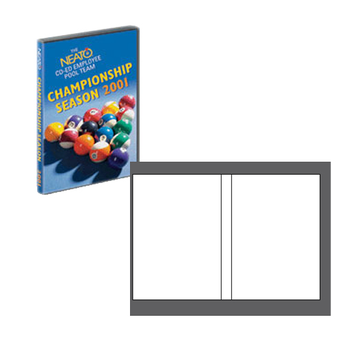 EconoMatte DVD Case Inserts - 100 Pack