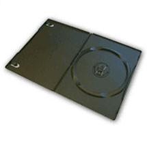 Black SlimLine DVD Cases - 25 Pack