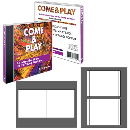 High Gloss Photo Quality Jewel Case Inserts - 20 Sets-CIP-192100