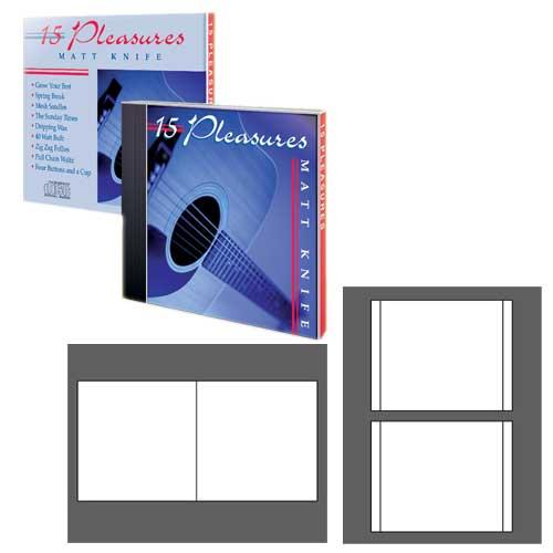 PhotoMatte Jewel Case Inserts - 20 Sets