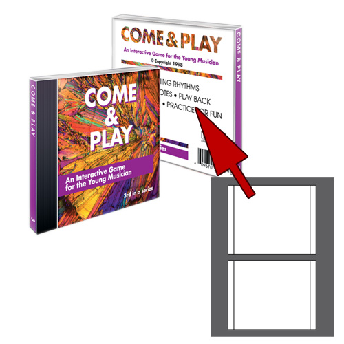 High Gloss Jewel Case Inserts - 100 Tray Liners