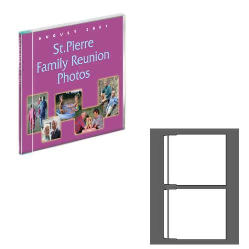 PhotoMatte Slim Jewel Case Inserts - 50 Pack