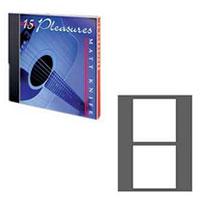 PhotoMatte Jewel Case Insert Card - 100 Pack