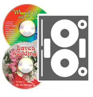 High Gloss Photo Quality CD/DVD Labels - 100 Pack