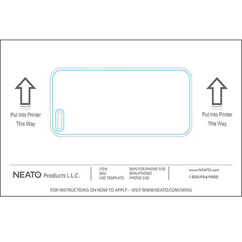 126472e41b8b Neato Skins - DIY Cell Phone & Device Labels