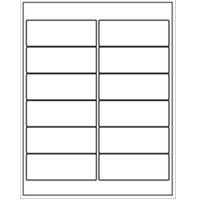 "1200 Neato Address Labels - 12 Per Sheet - 4"" X 1.5"""