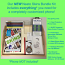 NEATO Cell Phone Skins Coloring Kit with Case & Screen Protector
