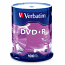 VERBATIM AZO DVD+R, 95098, 4.7GB, 16X, BRANDED, 100 Pack