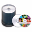 CMCpro TY 100 Silver InkJet Printable CDR-80Min/700MB - 100 Pack