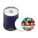 CMCpro Taiyo Yuden DVD-R 16X White Inkjet Printable - 100 Pack