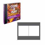 LaserGloss Jewel Case Booklets - 100 Pack