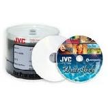 CMCpro Taiyo Yuden Water Shield Silver Inkjet Printable CDRs - 50 Pack