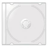 Mini CD Jewel Cases  - 100 Pack