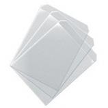 Vinyl Business Card CD Sleeves - 100 Pack