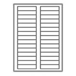 "3000 Neato Filing Labels - 30 Per Sheet - 2/3"" X 3 7/16"""