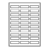 "3000 Neato Address/Shipping Labels - 30 Per Sheet - 2 5/8"" X 1"""