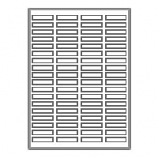 "2000 Neato Address/Shipping Labels - 80 Per Sheet - 1/2"" X 1 3/4"""