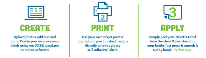 design print apply labels image